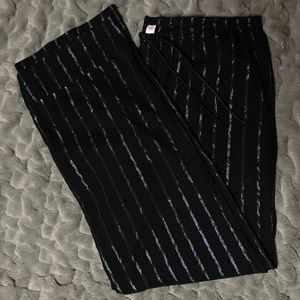Victoria's Secret Iridescent Stripped Pajama Pants